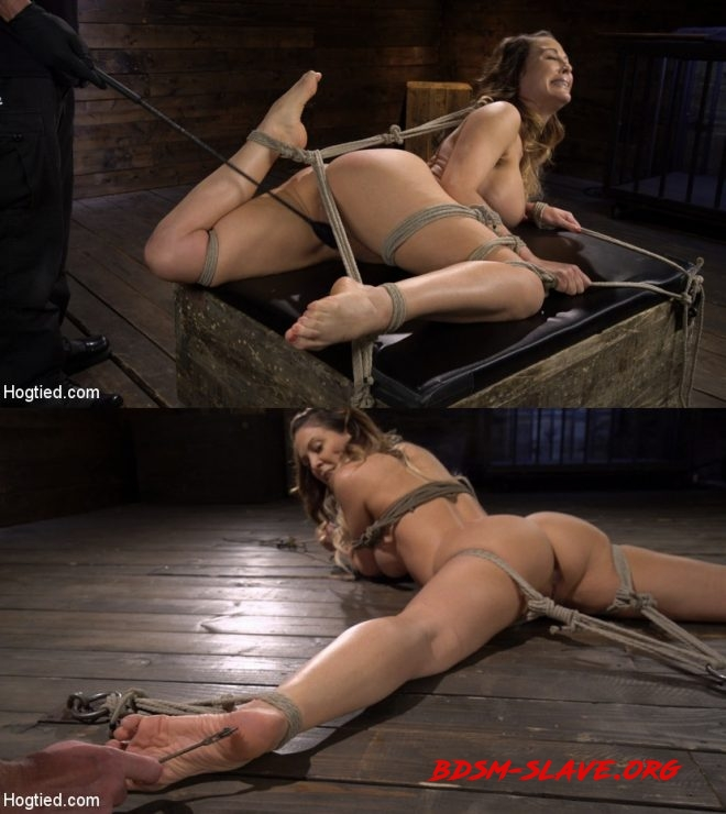 Blond MILF Cherie DeVille in Grueling Bondage Made to Endure Torment Actress - Cherie DeVille (HOGTIED) [HD/2019]