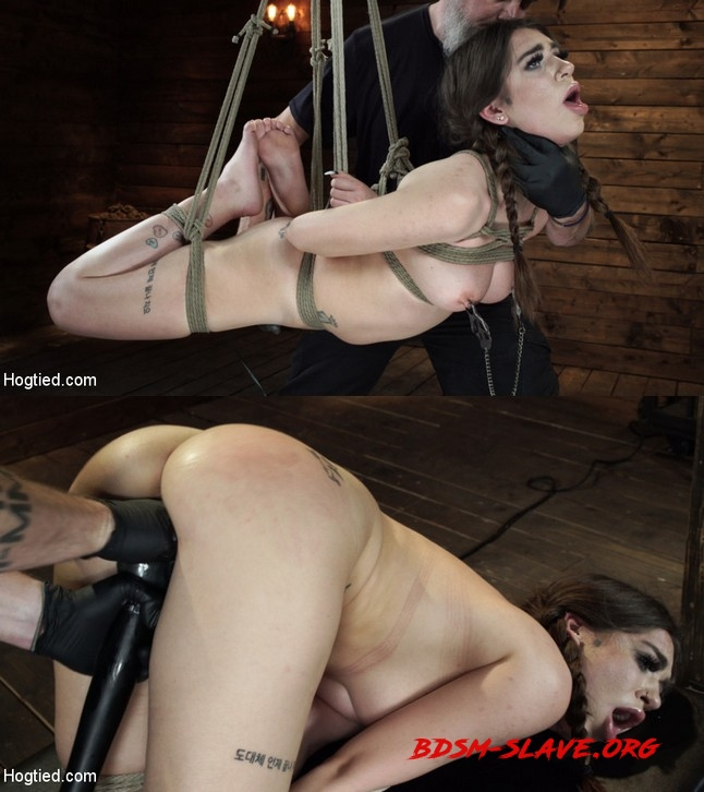 Pain Slut Surrenders to Bondage and Domination Actress - Joseline Kelly (HOGTIED) [HD/2019]