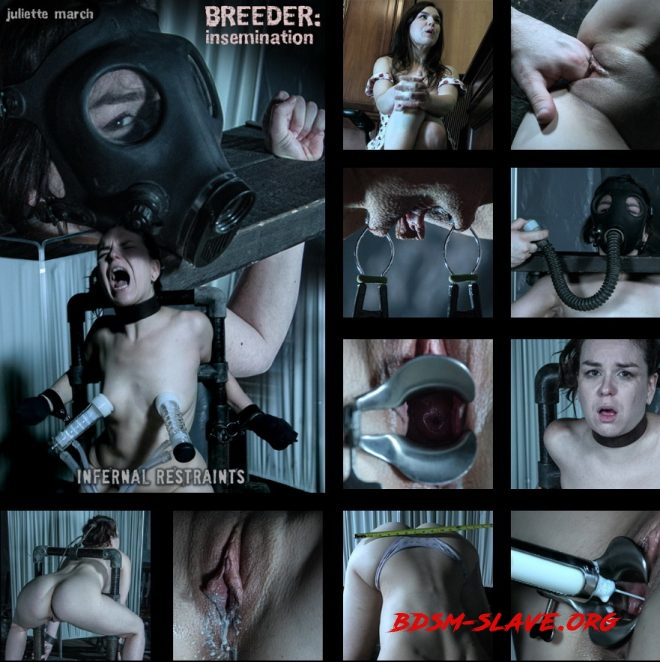 Juliette chooses the wrong fertility doctor. Actress - Insemination, Juliette March (INFERNAL RESTRAINTS) [SD/2019]