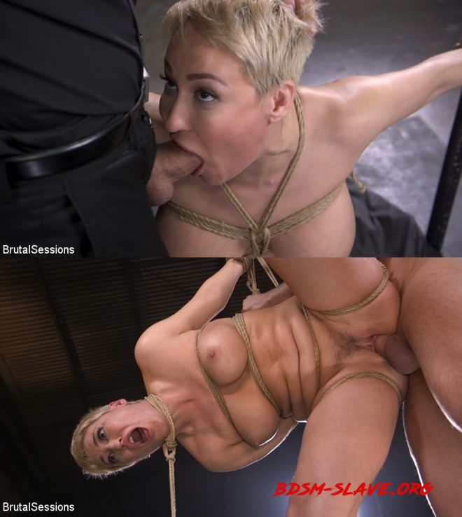 Stirling Cooper, Ryan Keely/Big Titted Goddess Ryan Keely Fucked, Disciplined in Rope Bondage (BRUTAL SESSIONS) [HD/2019]