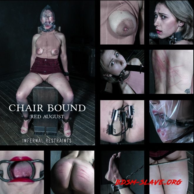 Chair Bound - Red August gets mounted to a chair. Actress - Red August (INFERNAL RESTRAINTS) [HD/2019]