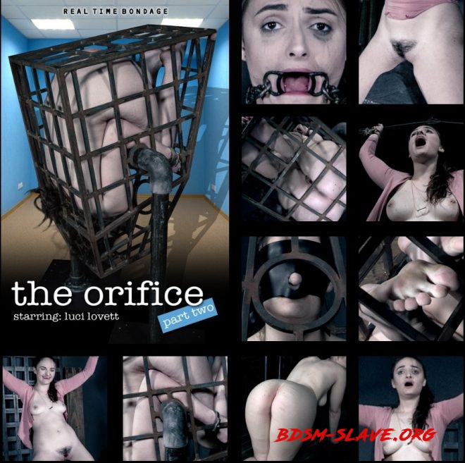 the orifice Part 2 - Luci is interrogated and spun in a cage. Actress - Luci Lovett (REAL TIME BONDAGE) [HD/2019]