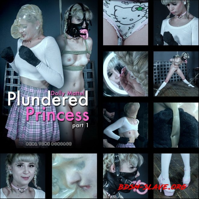 Plundered Princess Part 1 - Dolly Mattel is put through an intense first scene. Actress - Dolly Mattel (REAL TIME BONDAGE) [HD/2019]