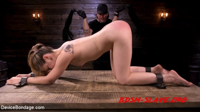 Suffering Through Predicament Bondage and Brutal Domination Actress - Bobbi Dylan (DEVICE BONDAGE) [HD/2019]