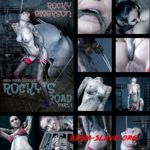 Rockys Road Part 1 - Rocky has to squat or choke! Actress - Rocky Emerson (REAL TIME BONDAGE) [HD/2019]