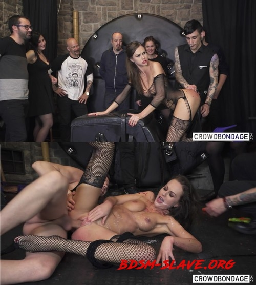 Wheel Of Fortune – BDSM Edition Actress - Tina Kay (CROWD BONDAGE) [FullHD/2019]
