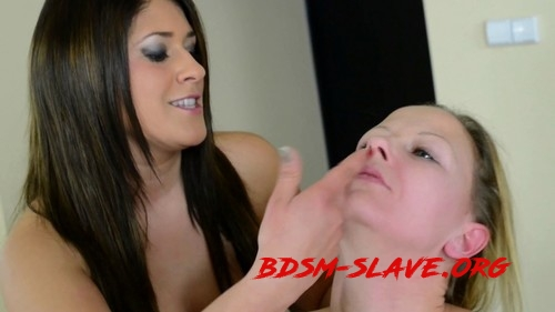 Faceslapping - By Domina Linda Rush And Her Slave Brigitt (Hunterotic) [FullHD/2019]