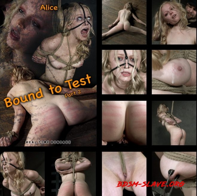 Bound to Test 2, The reddening of Alice's skin begins. Actress - Alice (REAL TIME BONDAGE) [HD/2019]