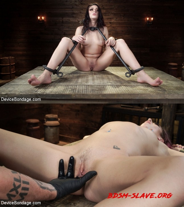 Girl Next Door Gone Goth is Bound and Tormented Actress - Nikki Knightly, Nikki Knightly (DEVICE BONDAGE) [HD/2019]