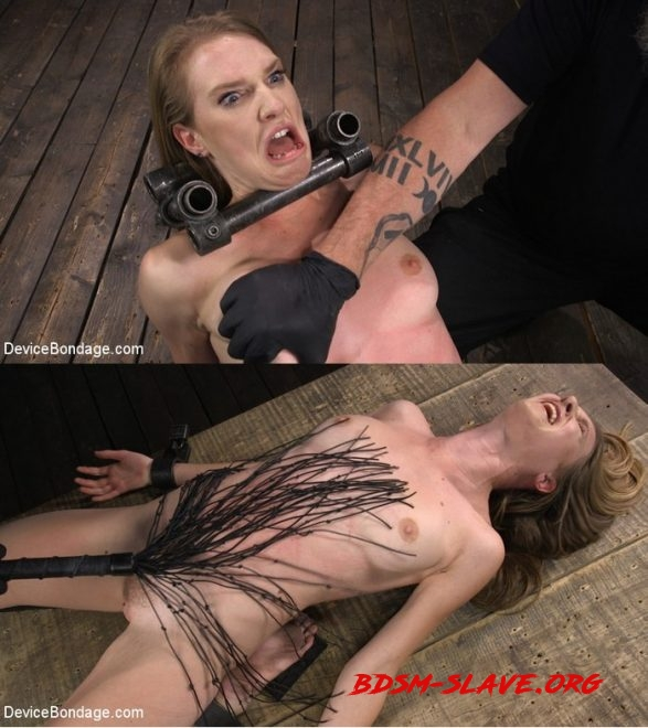 Ashley Lane: Pain Slut Brutally Tormented in Device Bondage Actress - Ashley Lane (DEVICE BONDAGE) [HD/2019]