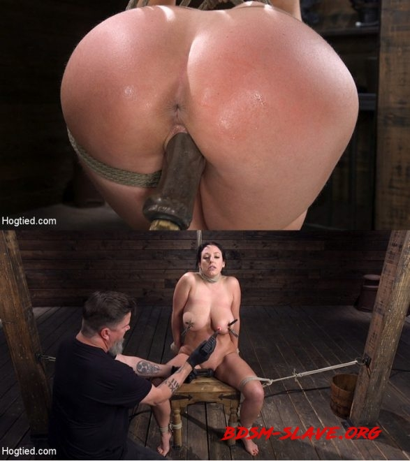 Angela White: Complete Submission to The Pope Actress - Angela White (HOGTIED) [HD/2020]