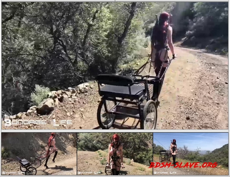 Pony Cart Walk (BondageLife) [HD/2020]