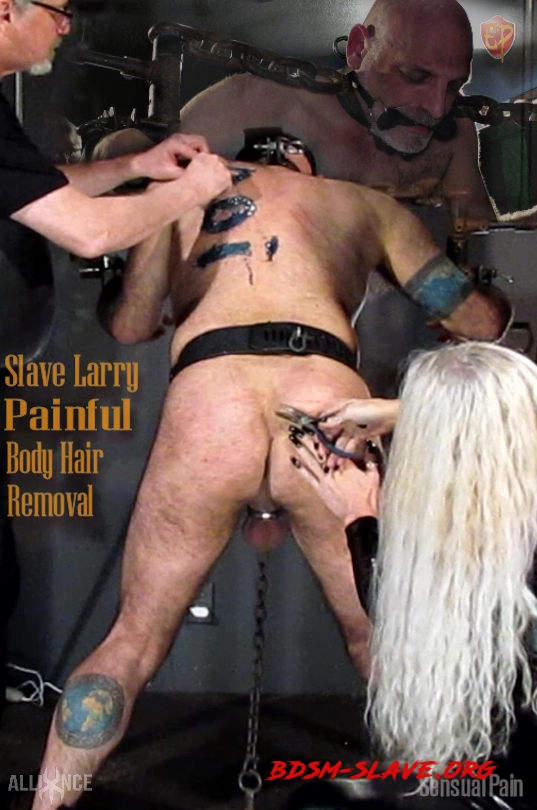 Painful Body Hair Removal (SensualPain) [FullHD/2020]
