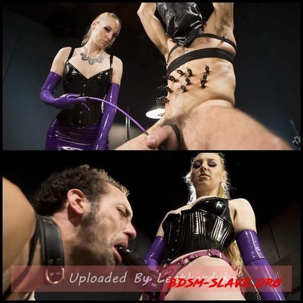 Svelte Blonde Delirious Hunter Punishes and Fucks Buttslut Slave [HD/2020]