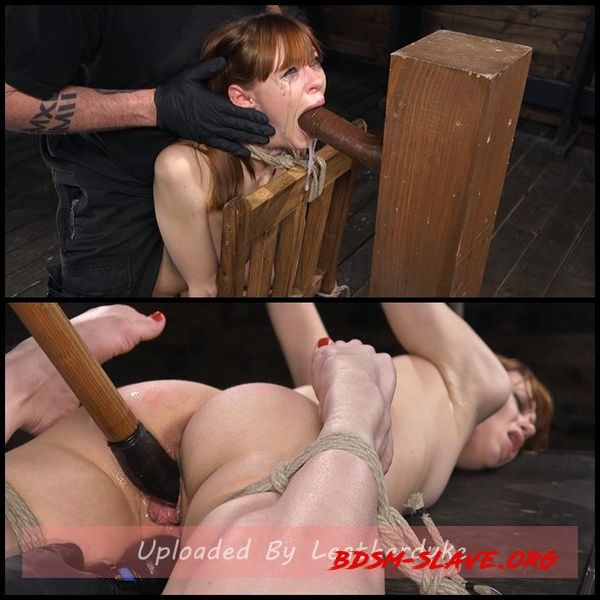 Red Headed Rope Slut Gets Brutalized and Made to Cum [HD/2020]