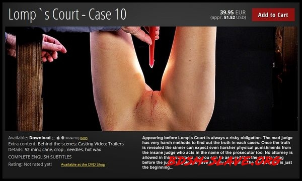 Lomp`s Court – Case 10 [FullHD/2020]