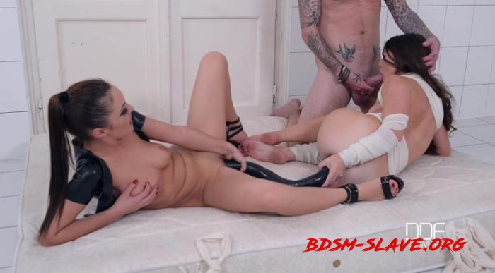 Mile Long Dong: Domina In Total Control Of Mental Bondage Threesome Actress - Dominica Phoenix, Tiffany Doll (DDFNetwork) [SD/2018]