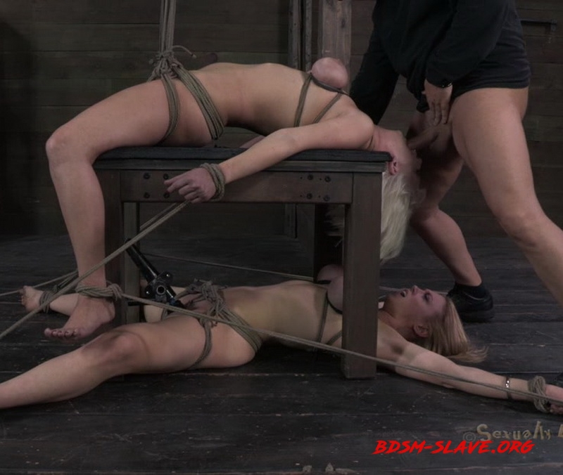 Amazing double category 5 back breaking suspension Actress - Cherry Torn, Darling (SexuallyBroken) [HD/2013]