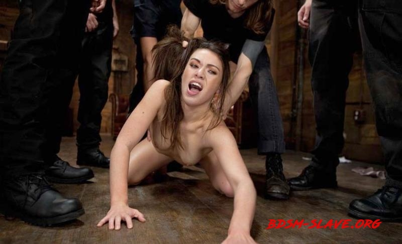 Gorgeous French Girl Taken Down in Rough Gangbang Actress - Tiffany Doll (BoundGangBangs) [HD/2012]