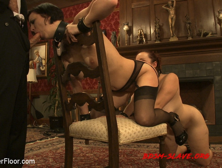 Service Session: Slaves in Bondage Actress - Cherry Torn, Bella Rossi (TheUpperFloor) [HD/2010]