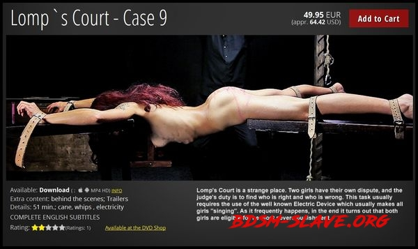 Lomp`s Court – Case 9 [FullHD/2020]