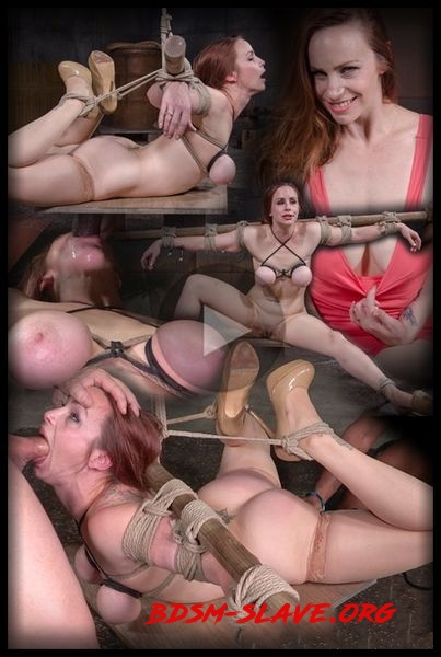 Busty Bella Rossi BaRS show with epic BBC deepthroat, tited tits and strict challenging bondage Actress - Bella Rossi [HD/2020]