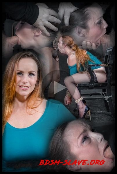 Big breasted Bella Rossi is bound and brutal shackled rough sex deepthroat while vibrated [HD/2020]
