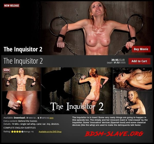 The Inquisitor 2 – BDSM, Spanking [HD/2020]
