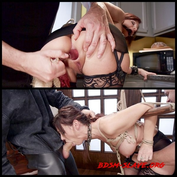 Syren de Mer Domestic Anal MILF Training, Day Two [HD/2020]