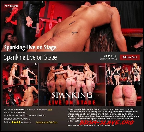 Spanking Live on Stage [HD/2020]