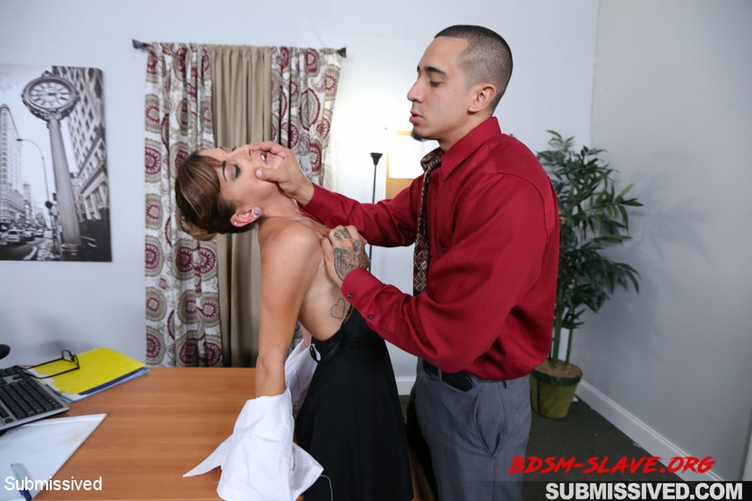 Hard Fucked in the Pussy and Cum in the Mouth Actress - Dakota Vixin, Bruno Dickemz (Submissived) [HD/2020]