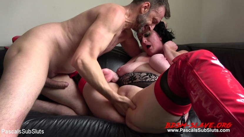 BDSM-Hard Fucked Gangbang Actress - Curvy Gal, Pascal White, Andy Baxter (PascalsSubSluts) [HD/2020]