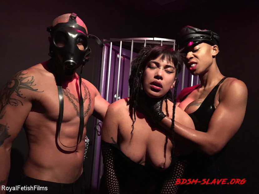Bdsm Hardcore - Hard Fucking Actress - King Noire, Ashley Paige, Michelle Minx (RoyalFetishFilms) [HD/2020]