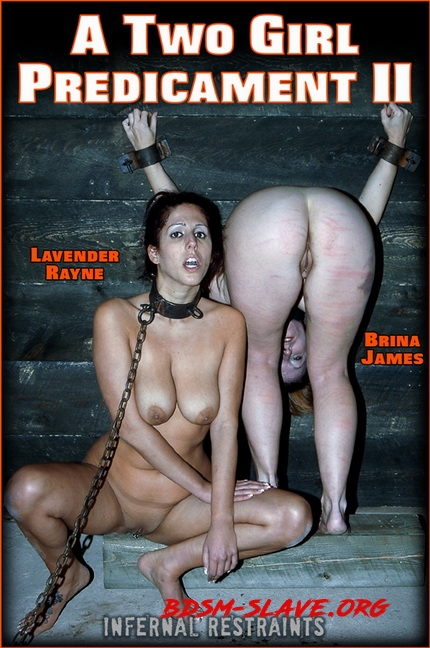 A TWO GIRL PREDICAMENT II Actress - Lavender Rayne (InfernalRestraints) [HD/2020]