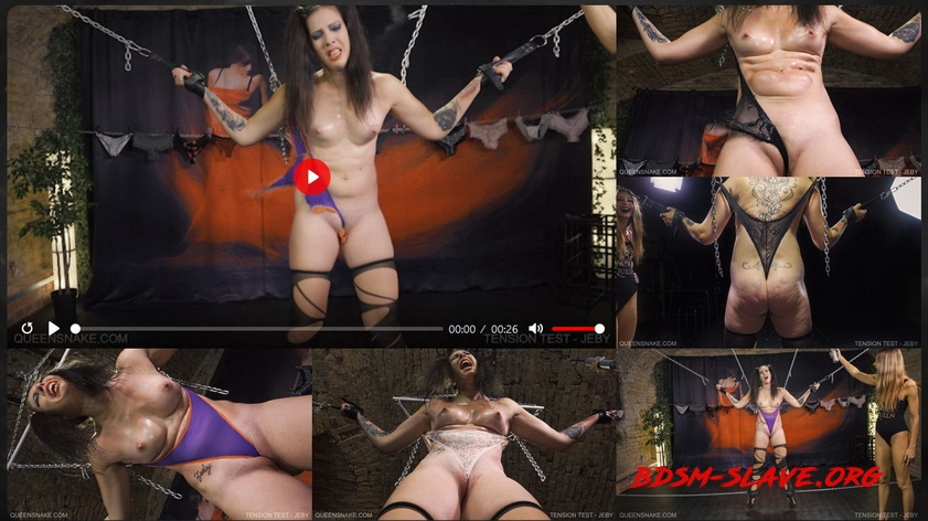TENSION TEST Actress - JEBY (Queen Snake) [FullHD/2020]