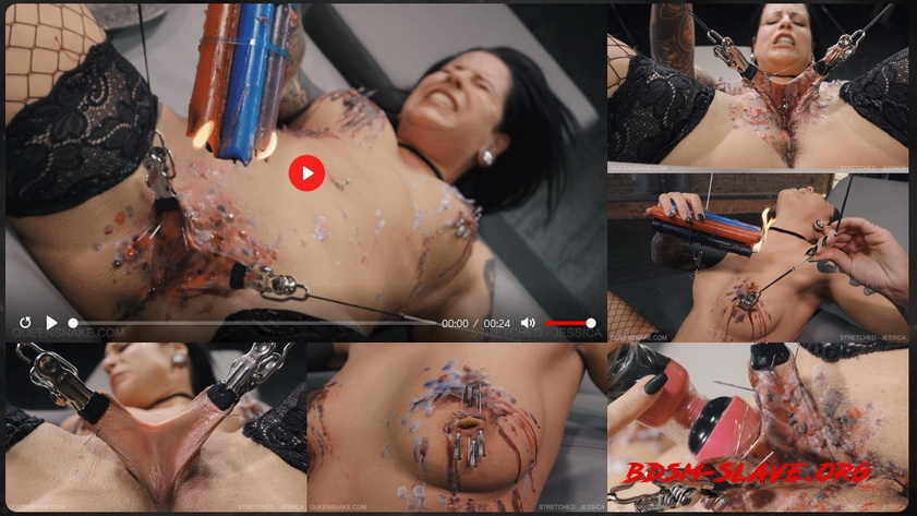 STRETCHED Actress - JESSICA (Queen Snake) [FullHD/2020]
