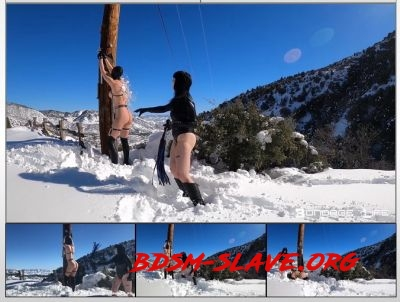 Winter Wonderland Flogging Actress - Rachel Greyhound, Lita Lecherous (Bondage Life) [HD/2020]