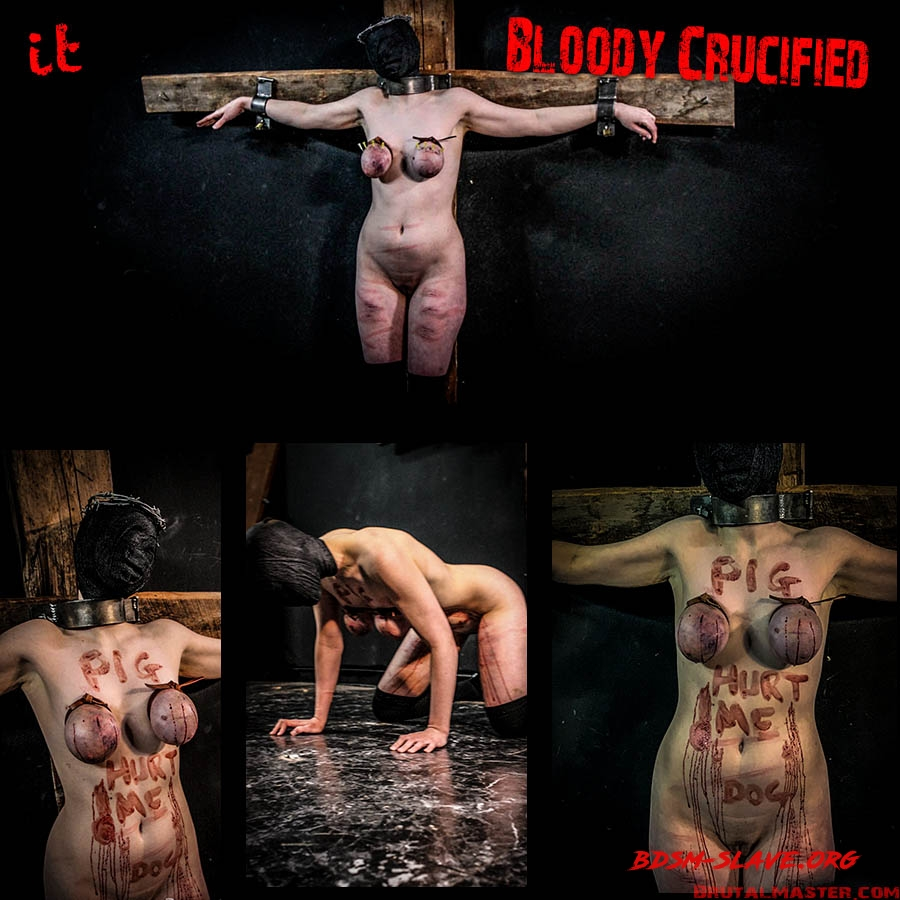 BDSM Actress - Bloody Crucified (BrutalMaster) [FullHD/2020]