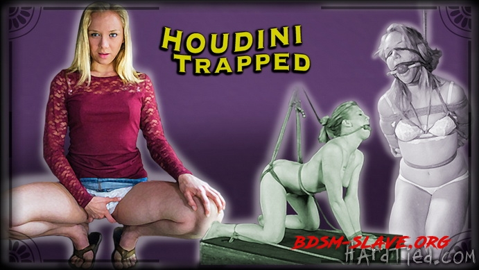 Houdini Trapped Actress - Tracey Sweet (Hardtied) [HD/2020]